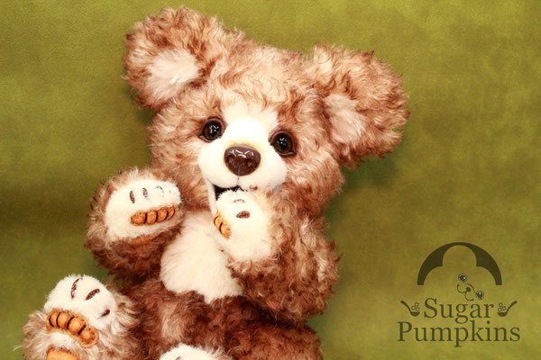 Sugar Pumpkinsのハンドメイドテディベア