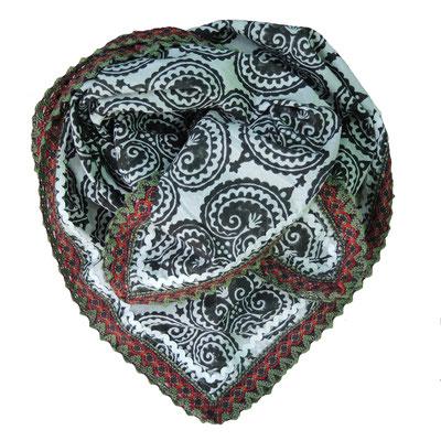 Block Print Damen Halstuch 100% Baumwolle , von maasa entworfen, in Indien von Hand bedruckt