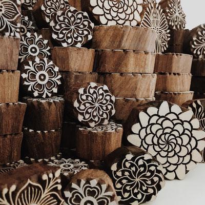Fachgeschäft für handbedruckte Textilien mit indischen Holzstempel - Wädenswil Zürich Schweiz