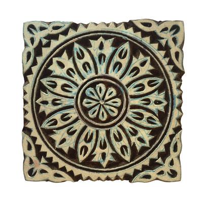 Holzstempel Ornament für Textildruck erhältlich über den Onlineshop
