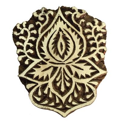 Holzstempel Ornament für Textildruck