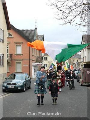 St. Patricks Day Clan McEL 2010