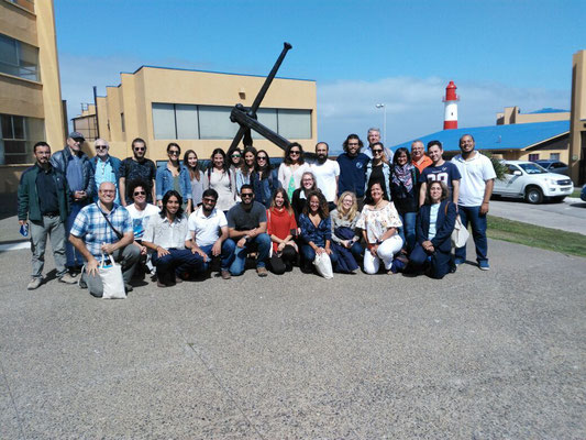 Participants during a field trip to the Chilean Navy Data Centre. Photo credit: IOI-TC-LAC