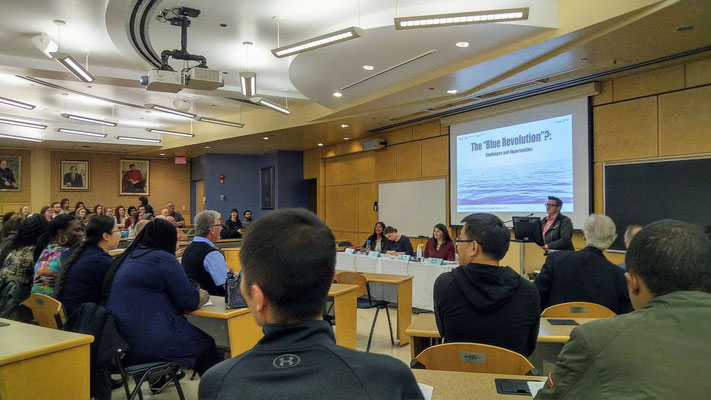 "IOI CANADA: The Elisabeth Mann Borgese Ocean Lecture was held at Dalhousie's Law School. This public event focused on ""The Blue Revolution: Challenges and Opportunities"""