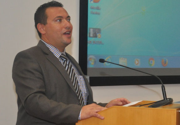 Hailing a new era for ocean literacy - Prof Alan Deidun. Photo credit: University of Malta