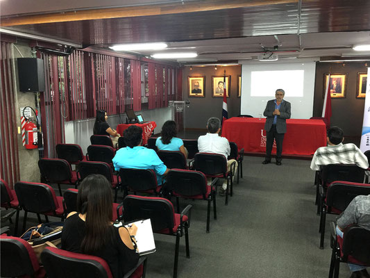 IOI COSTA RICA: A symposium organised at the Universidad Nacional de Costa Rica. Photo credit: IOI Costa Rica