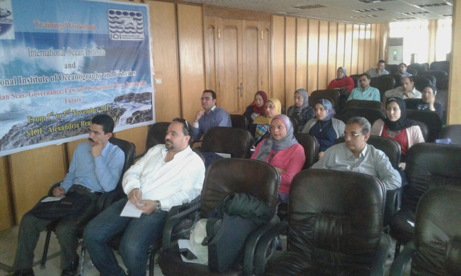 Participants during the Opening Ceremony. Photo credit: IOI Egypt