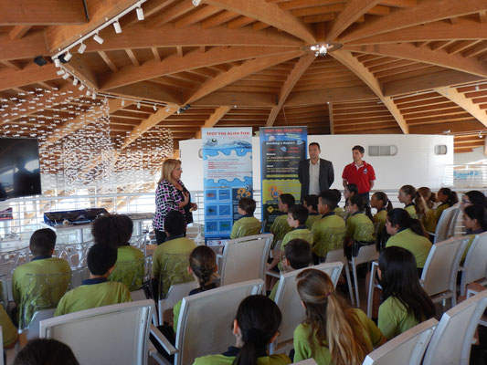 IOI MALTA: Talk by the President of Malta about Environmental Awareness & SDG14 at the Malta National Aquarium