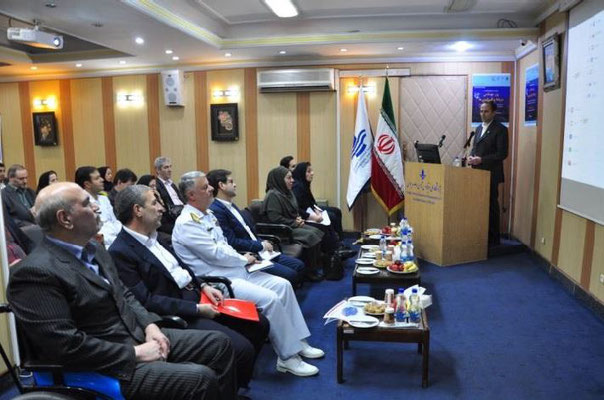 IOI IR IRAN: One of the 5 special ceremonies held at the INIOAS HQ in Tehran. Photo credit: IOI IR Iran