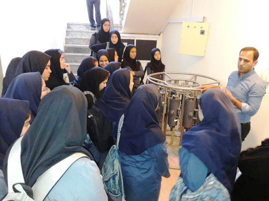 IOI IR IRAN: Students visit to the Iranian National Institute for Oceanography and Atmospheric Science