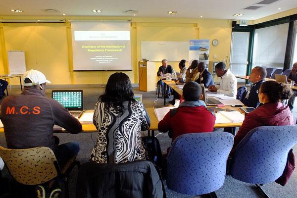 Participants during lectures