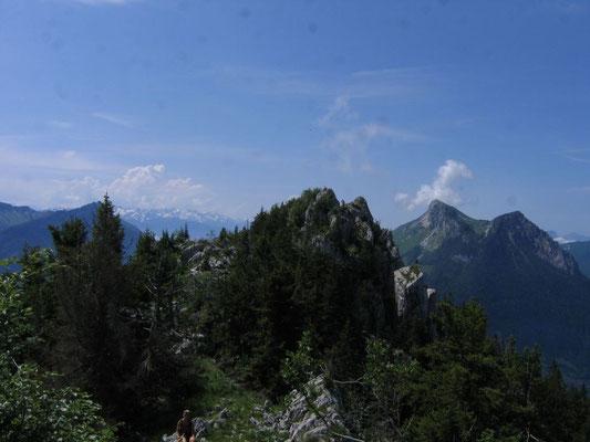 Sommet et le Grand Colombier en arrière plan