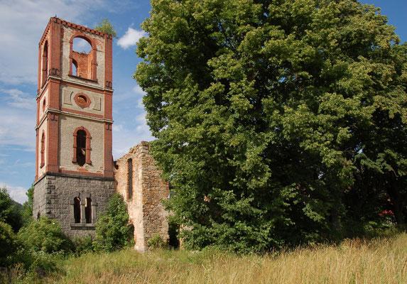 Die ehemalige evangelische Kirche in Karpniki/Fischbach, Foto: Ellen Röhner