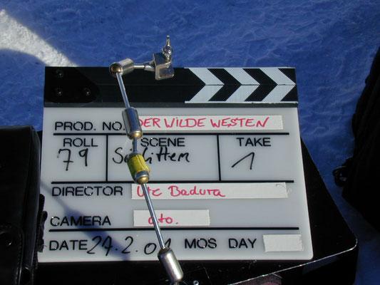 Bei den Dreharbeiten, Foto: Ellen Röhner