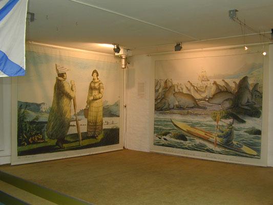 """Die Ausstellung """"Mit den Augen des Fremden"""", Foto: Ellen Röhner"""
