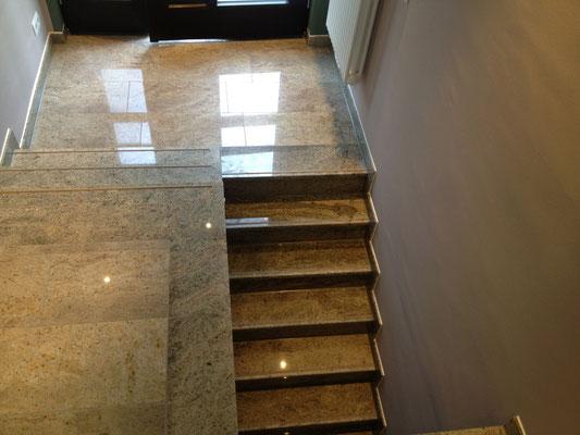 Treppenanlage Granit