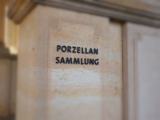 Porzellanmuseum im Zwinger