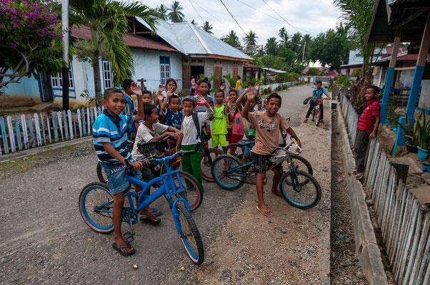 Auf dem Weg von Palu nach Ampana