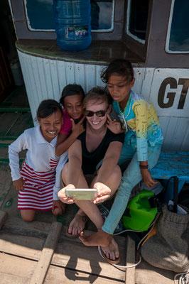 Auf dem Schiff von Ampana zu den Togian Islands