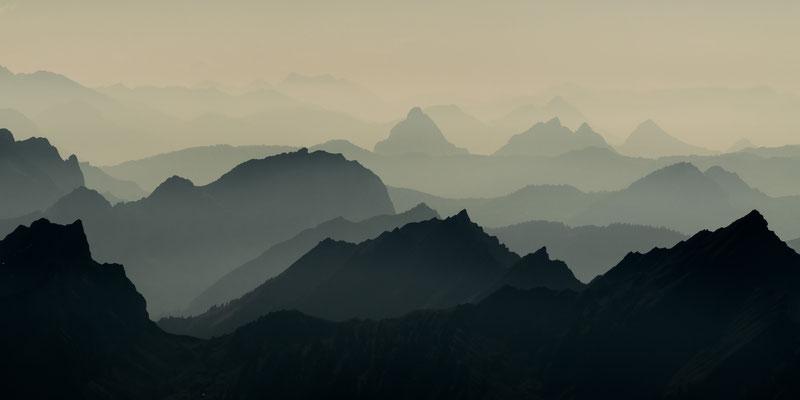 Blick vom Alpstein, Schweiz