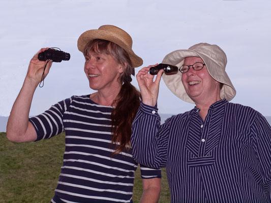 Kirstin Warschau und Ute Haese; Foto: T. Prawitt
