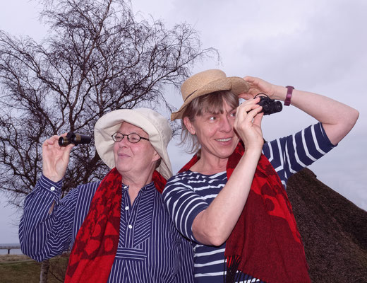 Ute Haese und Kirstin Warschau; Foto: T. Prawitt