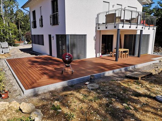 Terrassenanlage Neubau 2020