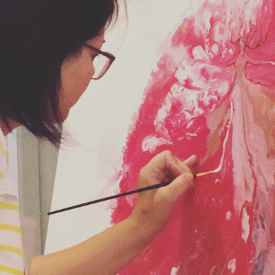 Rita Galambos painter illustrator graphic design hungary contemporary artist acrylpainting modernart künstlerin grafikerin Feldkirch Vorarlberg