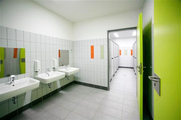Die Toiletten der Kinder
