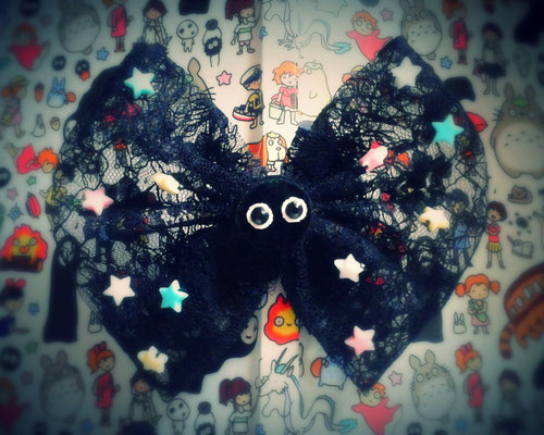 Kawaii Soot Sprite Large Lolita Bow