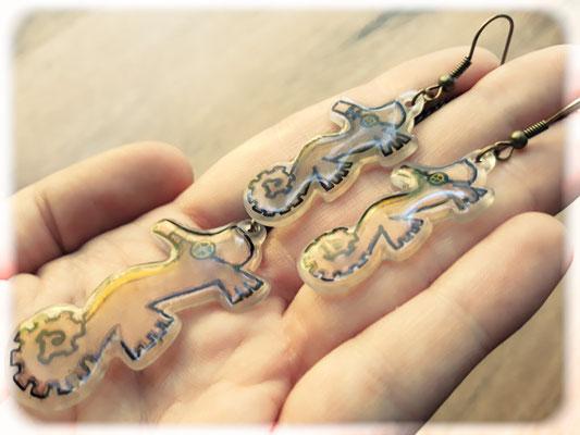 Steampunk Seahorse Jewellery 2