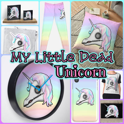 My Little Dead Unicorn Products 2