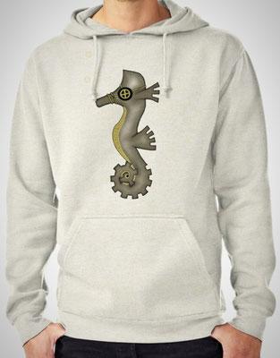 Steampunk Seahorse hoodie