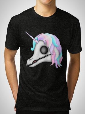 My Little Dead Unicorn | Rainbow Unicorn Skull