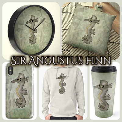Steampunk Seahorse Products 2