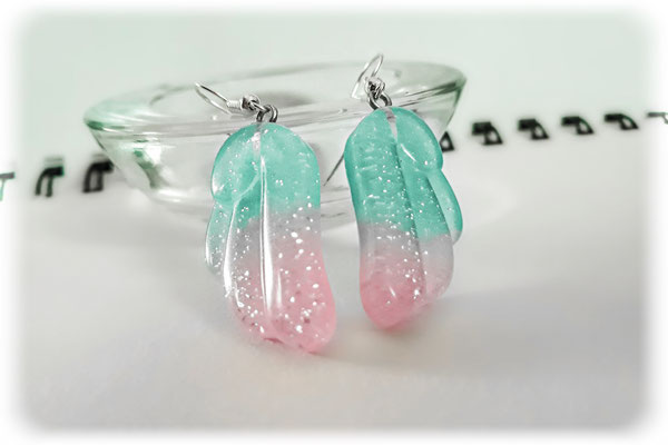 Kawaii Pastel Wings Earrings