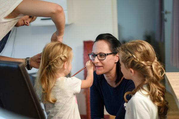 Vorallem die Kinder und jüngeren Gäste brauchen Begleitung, Spiel und Spaß!
