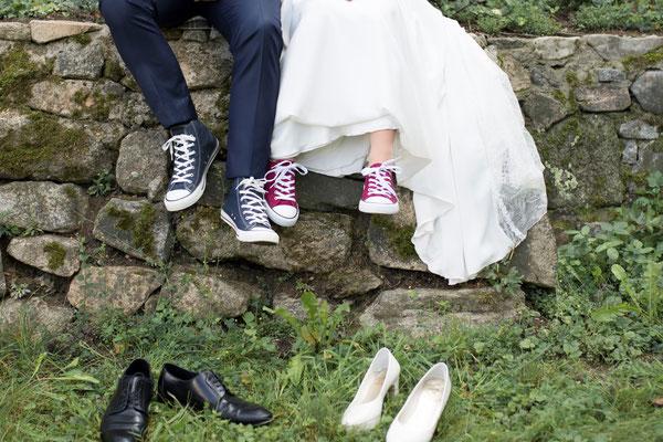 Das Bild spricht Bände - es war eine Hochzeit mit super, ausgelassener Stimmung