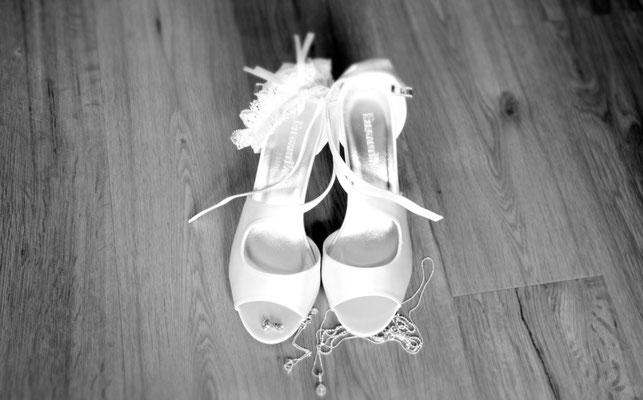 Brautschuhe sollten bequem und schick sein!