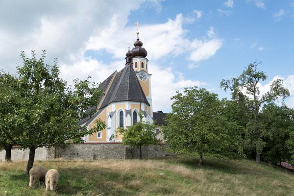 Trauung in der Wallfahrtskirche Hilkering.