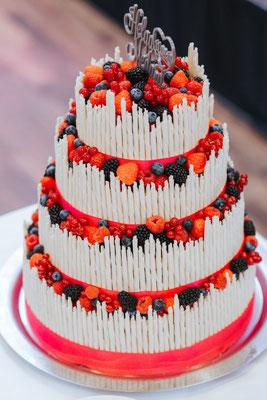 Wedding Cake aus der Küche des Hauses
