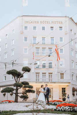 Imlauer Hotel Pitter - Tolle Location