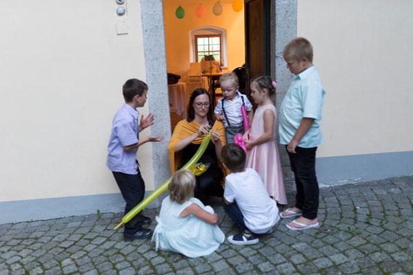 Kinderbetreuung ist ein MUSS auf jeder Feier!