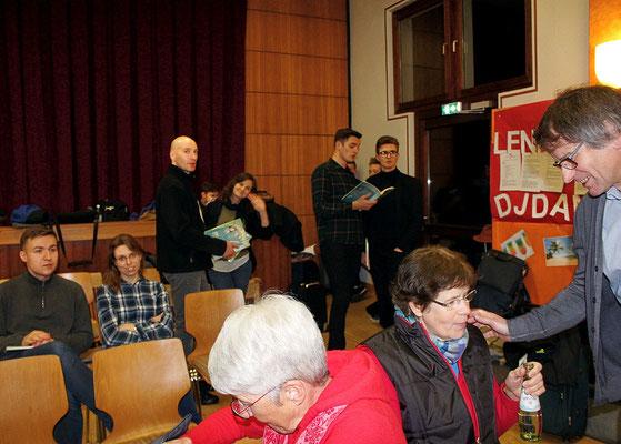 Ankunft der Gäste und gemeinsame Probe, Foto: M. Beckmann