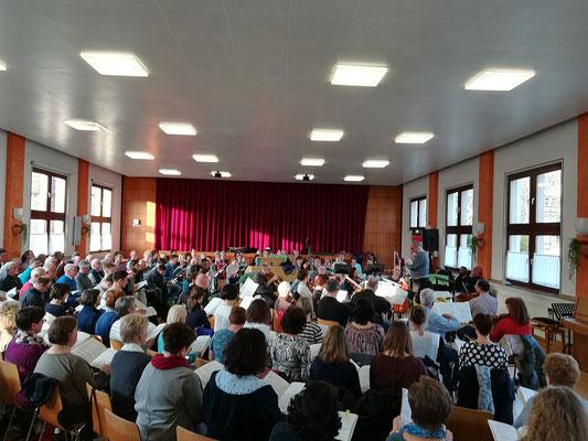 Stabat Mater, Generalprobe, Foto: Kirchenchor Meggen