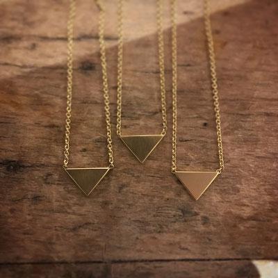 Anfertigung: Freundschaftskettchen, Silber vergoldet