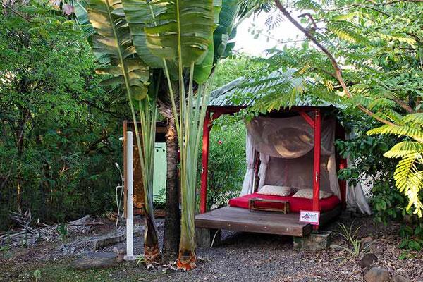 Location vacances - Bivouac en Guadeloupe