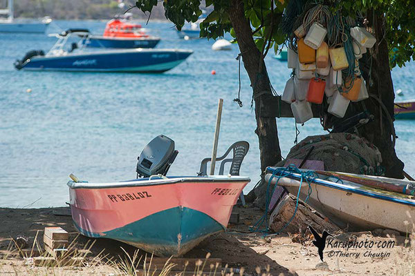 Barque de pêcheur - Guadeloupe - Karuphoto