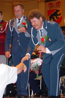 Veteranen: Hans Schneider, Fritz Iseli