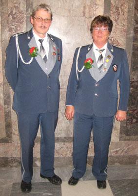 Veteranen 2012: Peter Stähli (Eidg. Veteran), Kathrin Gfeller (Eidg. Veteran)